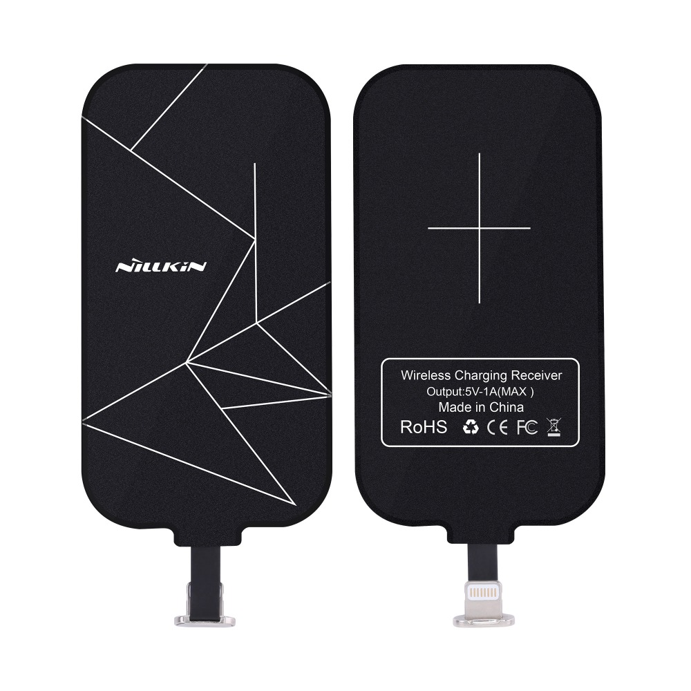 Nillkin Universal Qi Wireless Charger Receiver magic tag Charging Adapter Receptor for iphone5s se 6 6sforhuawei Micro USB phone
