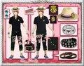 Uta no Prince-sama Kurusu Syo verano de Cosplay conjunto completo negro envío gratis
