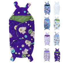 Baby Blankets Polar Fleece Fabric Infant Swaddle Soft Short Plush Baby Envelope Stroller Wrap for Newborns Baby Bedding Blanket