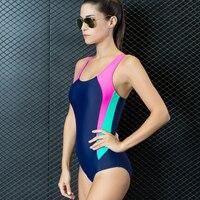 De las mujeres de Una Pieza del traje de Baño Atractivo Backless Atletismo Carreras de Traje de Baño traje de Baño Tankini Monokini de Baño Badeanzug chándal