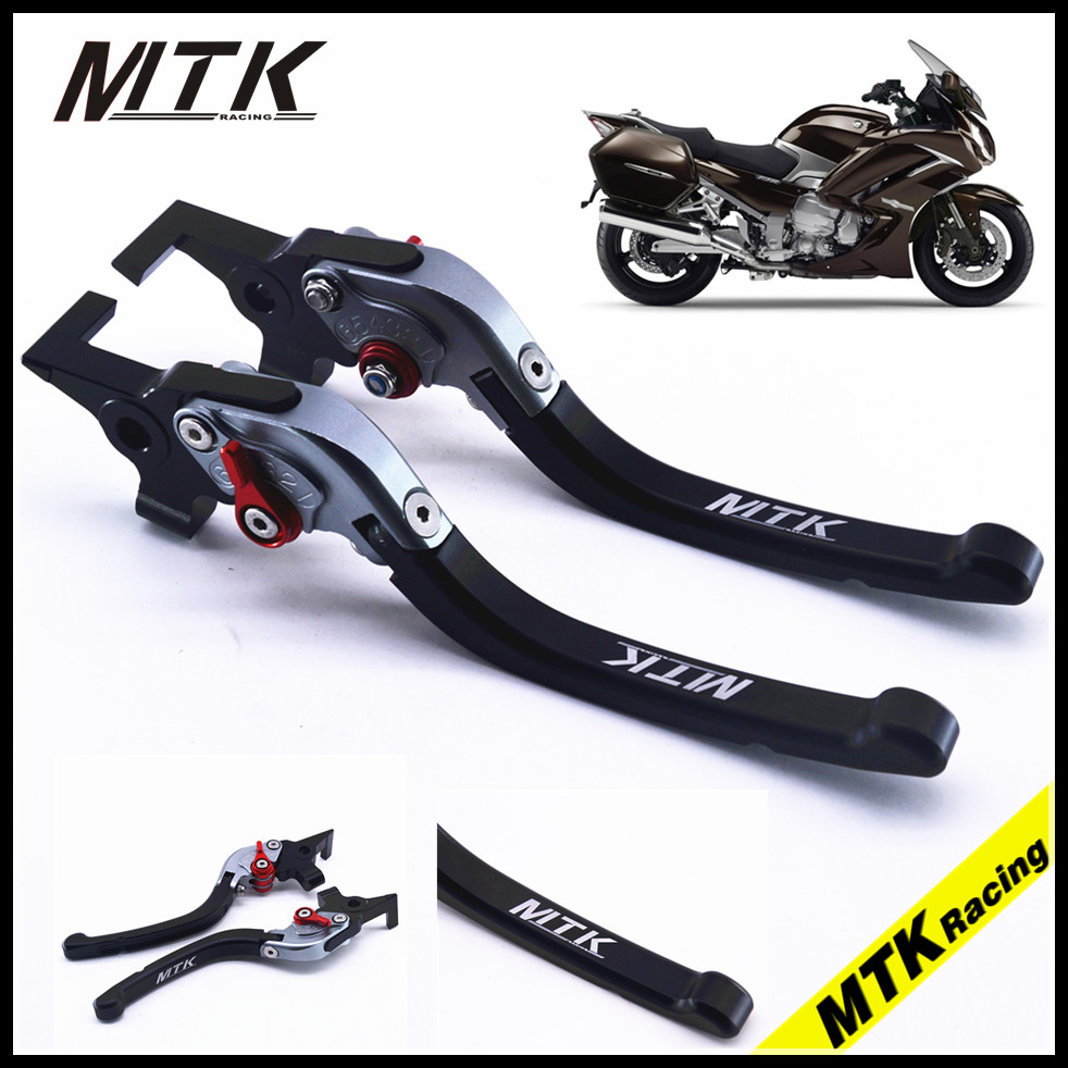 MTKRACING CNC Long Brake Clutch Lever For Yamaha FJR1300  XJR1300 SUPERTENERE/XT1200ZE Motorcycle parts adjusters adjustable cnc motorcycle brake clutch levers for yamaha supertenere xt1200ze 2012 2016 xjr1300 2004 2014 fjr 1300 2004 2016