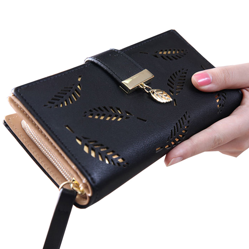 Brand Wallet Women Long Leather Women Wallets Coin Purse Korean Style Ladies Wallet Clutch Beautiful Card Holder Large Capacity