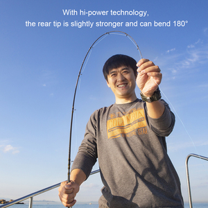 Image 4 - Obei master boat lento jigging vara de pesca 100 500g viagem fiação fundição isca vara 30 80ib vara de isca de pesca