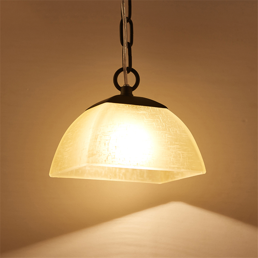 Modern Led E27 Glass Kitchen Chandelier Bedroom Living Room Study Pendant Lamps Nordic Kitchen Light Hanging Lamp Fixtures Deco