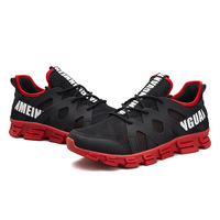 Breathable Running Shoes for Man Black White Sport Shoes Men Sneakers Zapatos Hombre Summer Trend Athletic Shoes Homme De Marque