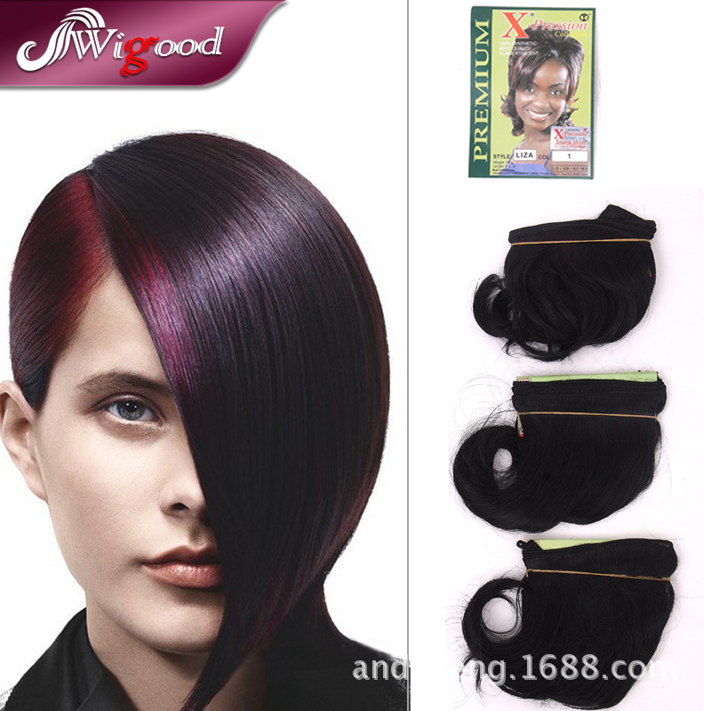 What is x pression hair made from