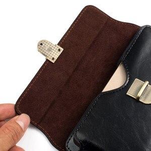Image 5 - Uniwersalny zaczep na pasek kabura dla iPhone 6 7 8 plus 10 Retro dwie kieszonki mężczyzna talii torba dla Samsung S9 S8 plus S7 krawędzi S6 S5 uwaga 8