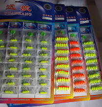 240pcs (40packs) Seven-star Float Mixed color Carp Fishing Accesories Pesca Buoys Large Medium Small Size B108