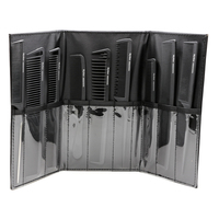 Popular Professional Hairdressing Carbon Combs Set 9pcs Combs Set With Bag In High Quality Carbon Fibre
