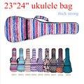 23/24 inches bass guitar bag ukulele backpack soft gig shoulder bags small case acoustic concert  Luna music ladies man kid gift