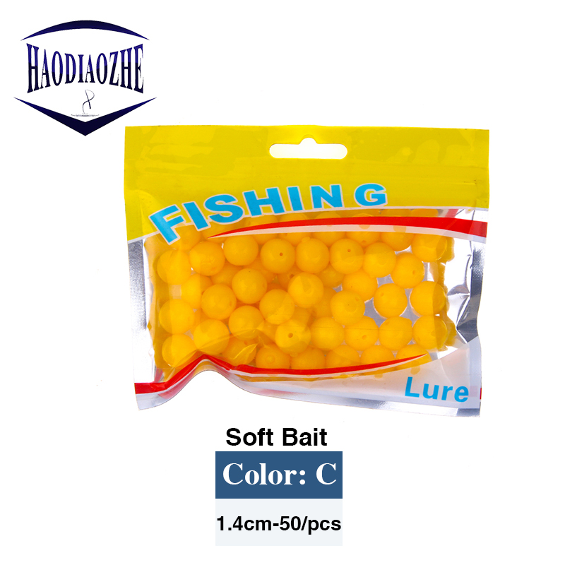 50pcs lot Floating Soft Corn Fishing Lures Smell Carp Fishing 8 10mm Artificial Soft Ball Beads Feeder Bait Pesca Fishing Tackle in Fishing Lures from Sports Entertainment