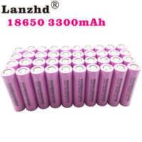 18650 baterías recargables para Samsung 18650 batería 3300mAh INR18650 30A litio ion 3,7 V 18650VTC7 18650 (40 piezas-400 piezas)