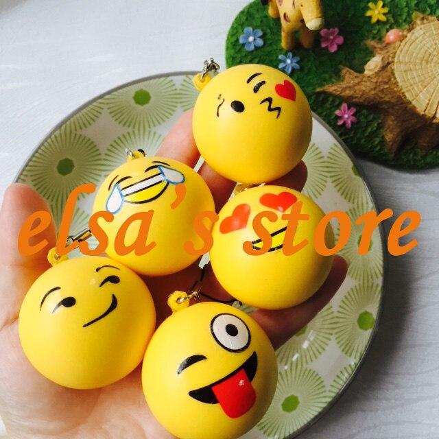 imágenes para Squishies 20 unids rare blando lot kawaii squishy perfumado expresión bollo niños juguetes correas del teléfono encantos Envío Libre