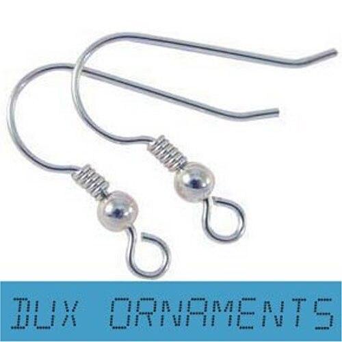 SS Jewelry Earring Finding Hook Earwires Wholesale 1000pcs(Silver)