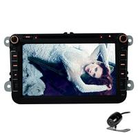 Android 4 4 8 Inch Car DVD Player For VW POLO PASSAT Golf Bora Jetta Candy