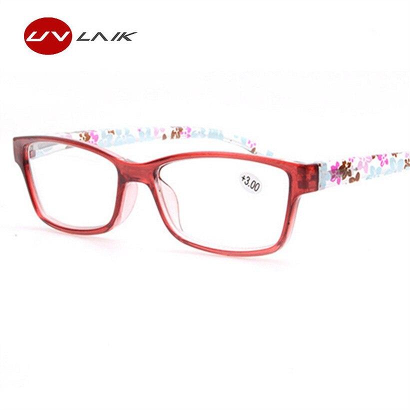 Aoron Women Reading Glasses Men Presbyopic Flower Adornment Plastic Legs Design Glasses For Women Eyeglasses Magnifier 100% Original Apparel Accessories