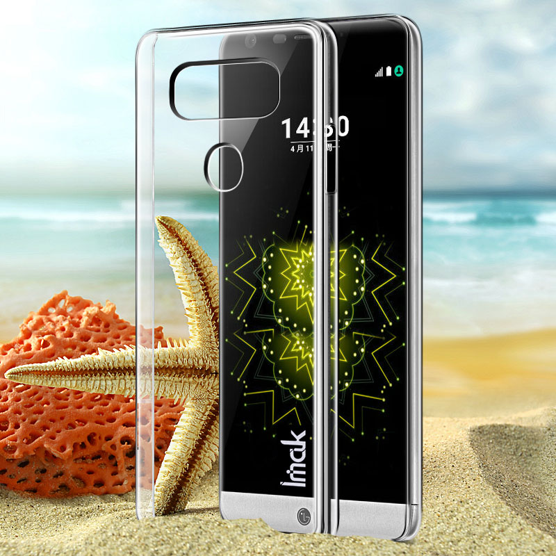 wholesale dealer 2c812 f17a8 US $5.0 |Aliexpress.com : Buy For LG G6 Hard Case, Original iMAK Wear  Resistant Transparent Crystal Shell Hard Cover Case for LG G6 case For LG  G6 ...