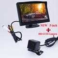 Enchufe impermeable cámara de reserva del coche a prueba de golpes 170 de visión amplio lente de ángulo + hd monitor de pantalla de coche universal venta