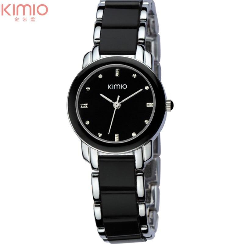 kvinnor kvarts klockor mode dam armband klockor KIMIO märke 2017 - Damklockor - Foto 6
