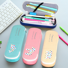 Cartoon Animal Star Bear Fish Pen Box Pencil Case Creative Korean Style Large Storage Ballpoint Pen