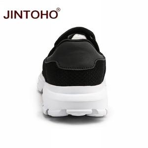 Image 4 - JINTOHO Big Size Zomer Mannen Casual Schoenen Slip Op Mannen Loafers Ademende Mannen Sneakers Toevallige Mannelijke Schoenen Merk Mannelijke Sneakers