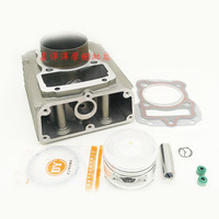 63.5mm water cooled Motorcycle Cylinder Piston Ring Gasket Kit for LONCIN CG200 LF200 CG 200 200cc
