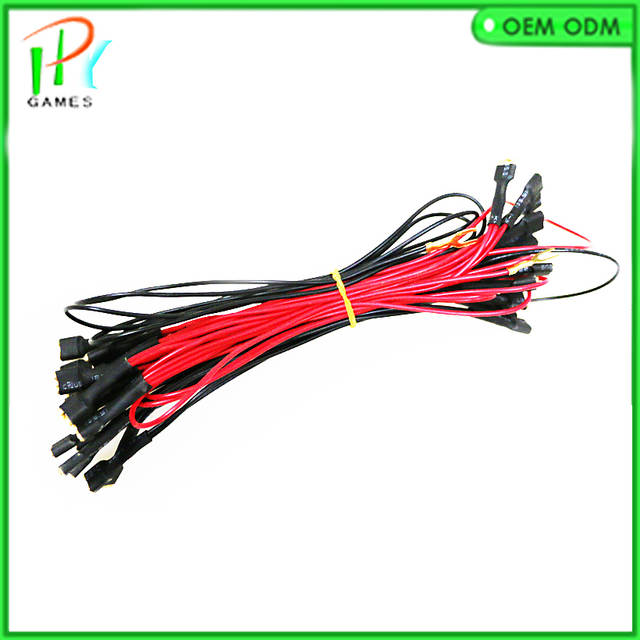 US $3.2 |Arcade led push on 12v cable 6.3mm terminal wire harness-in  Mm Led Wire Harness on led turn signals, led wire jumper, led fuse, led wire cable, led tube, led frame, led wire mask, led wire connector, led wire hub, led circuit boards, led wire rope, led cover, led power cords, led wire lamp, led wire gauge, led lights, led housing,