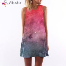 71bfb41a11774 Buy plus size galaxy dresses and get free shipping on AliExpress.com