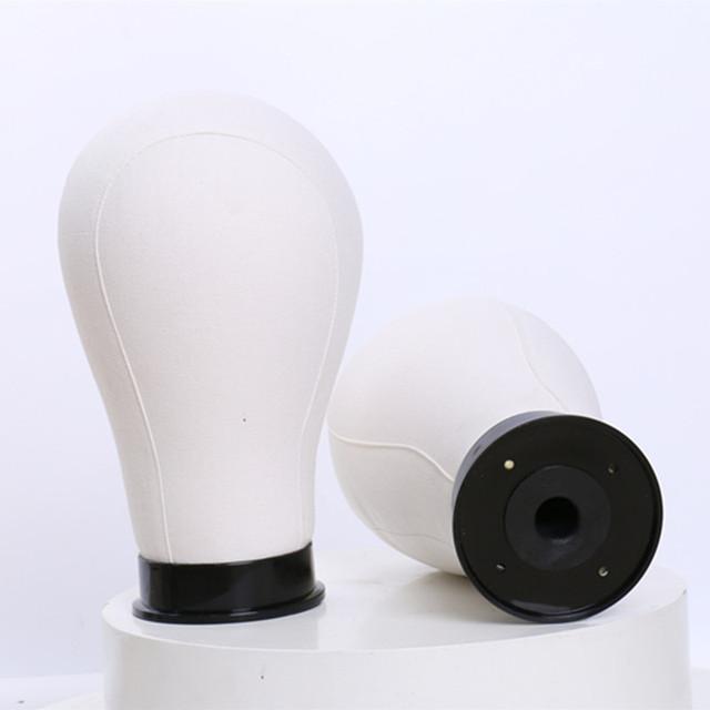 Água Repelente de Lona Cabeça Peruca para Fazer Peruca Styling e Exibição de Qualidade Premium Peruca Estande