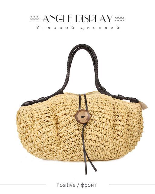 Tienda Online Almohada de cestas de paja mercado francés verano ...