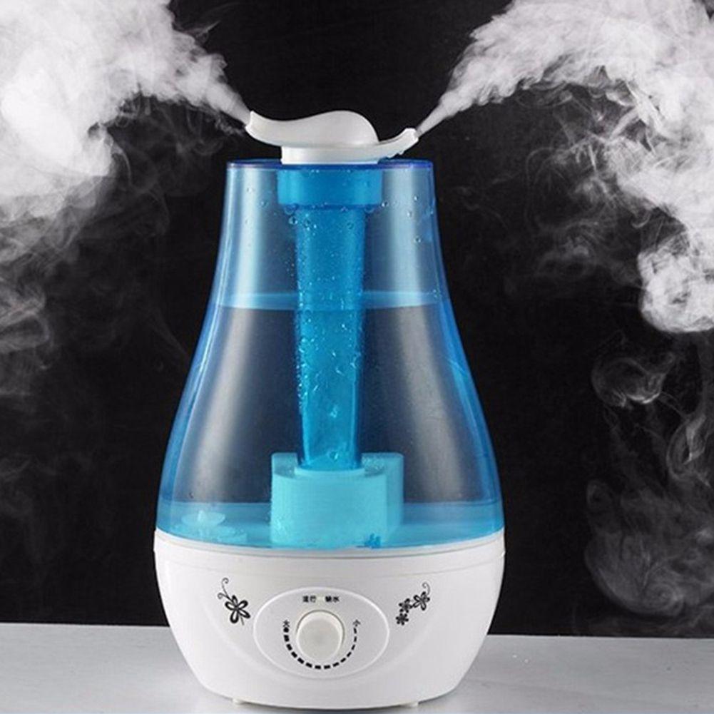 3L Ultraschall-luftbefeuchter Mini Aroma Luftbefeuchter Luftreiniger mit LED Lampe Luftbefeuchter für Tragbare Diffusor Nebel Maker Fogger