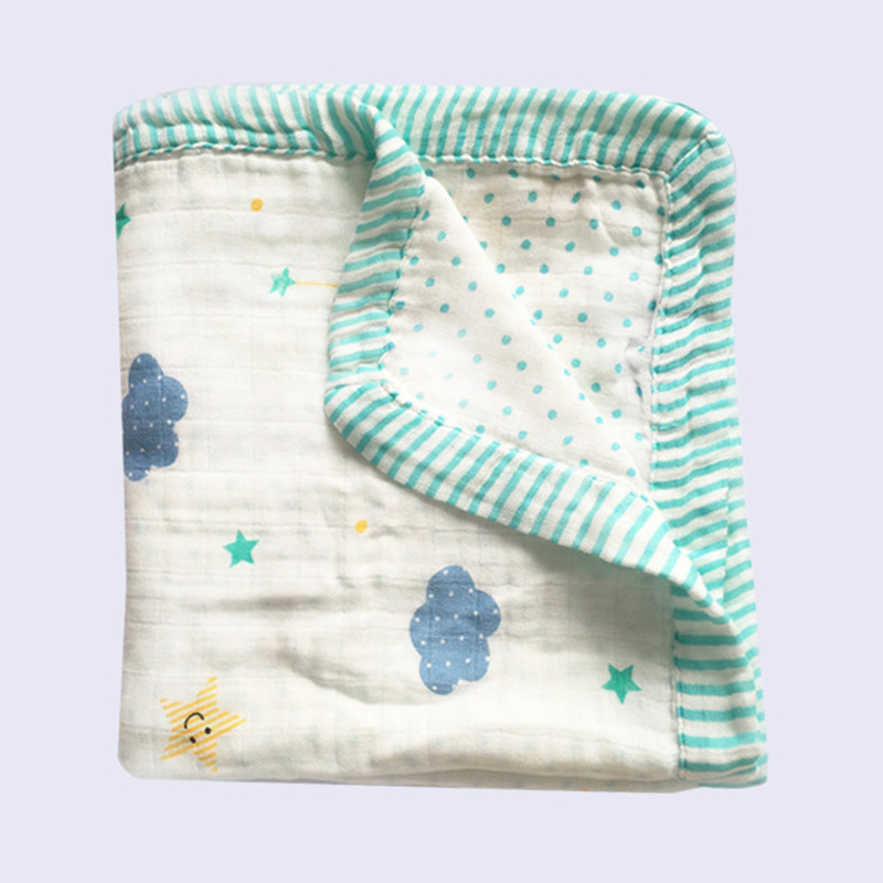 four layer bamboo baby muslin blanket Muslin Tree <font><b>swaddle</b></font> better than Aden Anais Baby/bamboo Blanket Infant Wrap