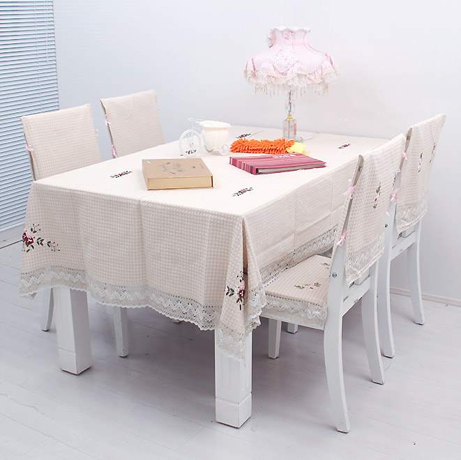 Quality Ribbon Embroidery Table Cloth Dining Table Cloth Multi Purpose  Tablecloth Towel Cover Chair Covers Chair Pad In Tablecloths From Home U0026  Garden On ...