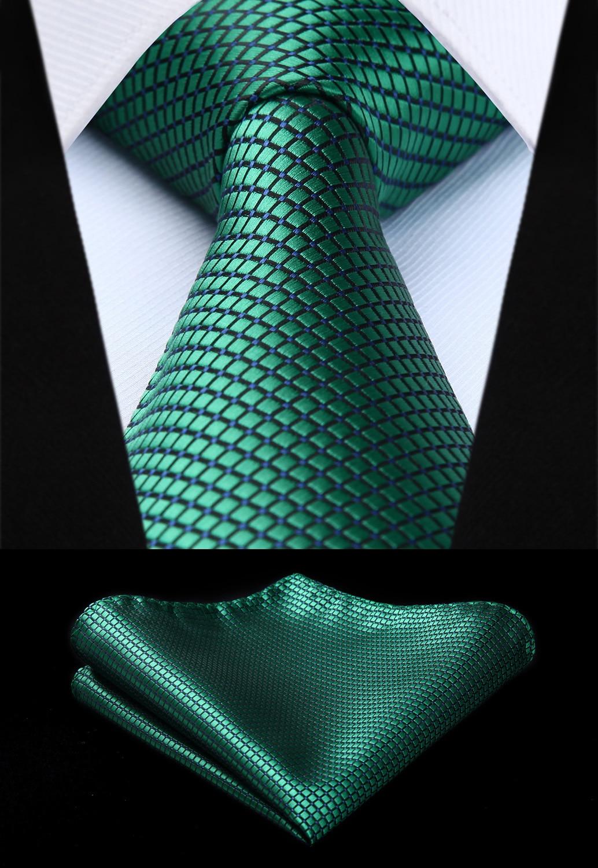 TC614G8S Men Fashion Green Check & Plaid 3.4