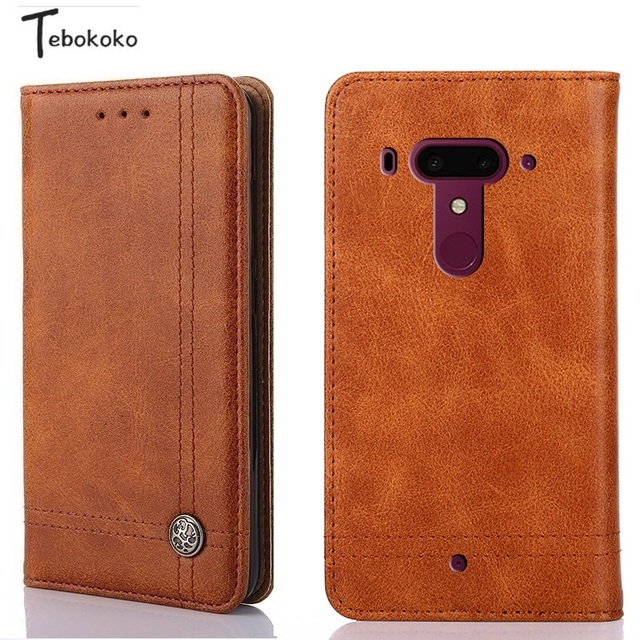 new product cb958 bd188 US $7.81 |Flip Case for HTC U12 Plus Coque Phone Bag Card Slot Holder  Wallet Leather Case for HTC U12 Plus 6.0inch Cover-in Wallet Cases from ...