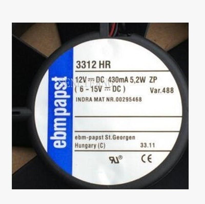 For 3312 HR 3312HR DC 12V 5.3W 90x90x32mm Server Cooler Fan