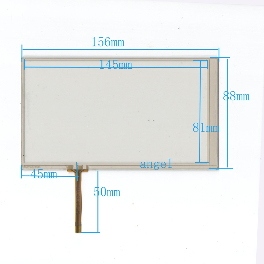 6.4-inch external screen handwriting four-wire resistive touch screen 156 * 88 navigation instruments and other general TR4064F
