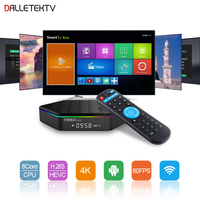 Android TV Receiver S912 2GB 16GB TV Box WIFI Android 7 1 Box T95ZPLUS Support BT