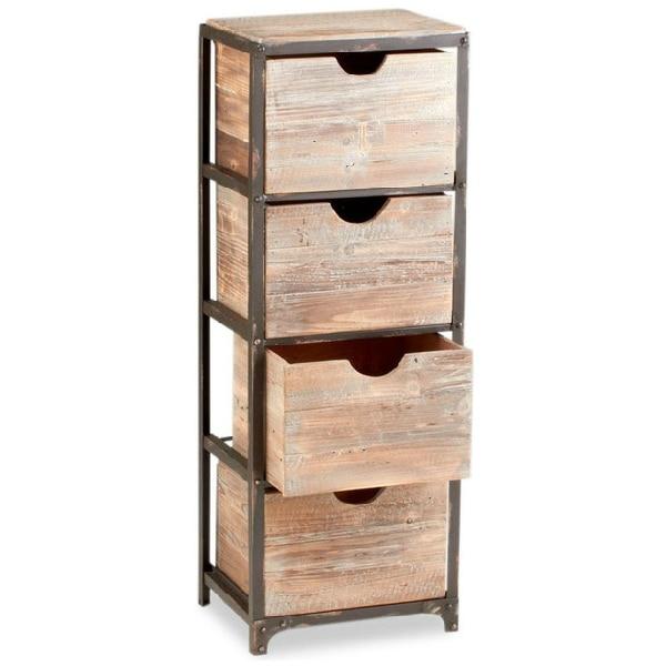 Ladekast slaapkamer hout for Ladeblok hout