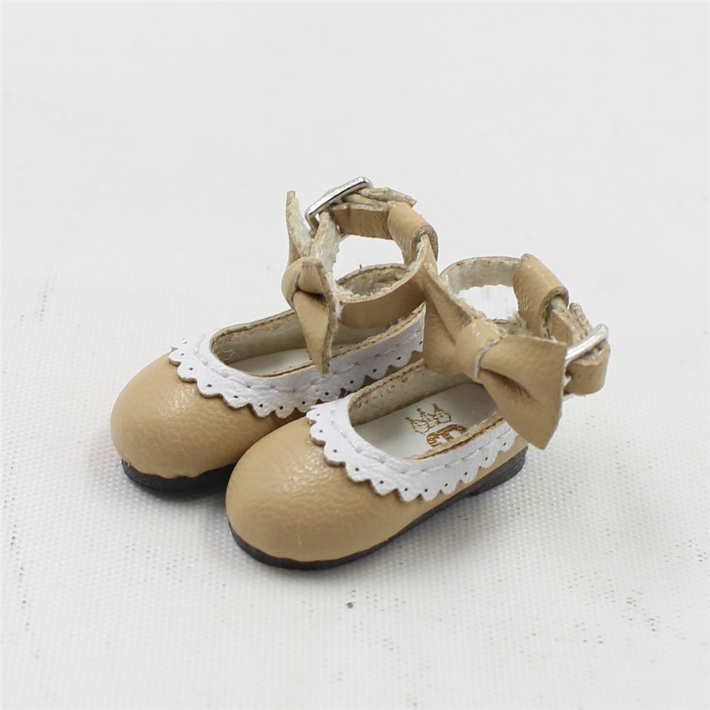 Neo Blythe Doll Designer Shoes with Bow 6