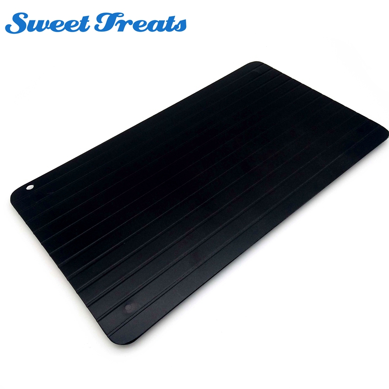 Sweettreats Hohe Qualität Schnelle Abtauwanne Abtauung Fleisch oder Tiefkühlkost Schnell Ohne Strom Mikrowelle