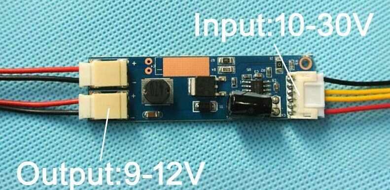 Бесплатная доставка, 2 шт, 24 дюйма, 540 мм, Регулируемая яркость, светодиодный комплект с подсветкой, обновление 24inch-wide lcd CCFL панель для Светодиодный подсветки