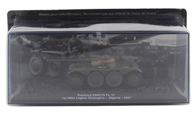 IXO 1/72 Panhard EBR-75 FL 11 France Wheeled armoured reconnaissance vehicle Alloy collection model Holiday gift