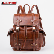 купить Retro Black Motorcyle Bag British Style Brown Fashion Classic Backpack Women Men Designer Belt Buckle Vintage Leather Schoolbag дешево