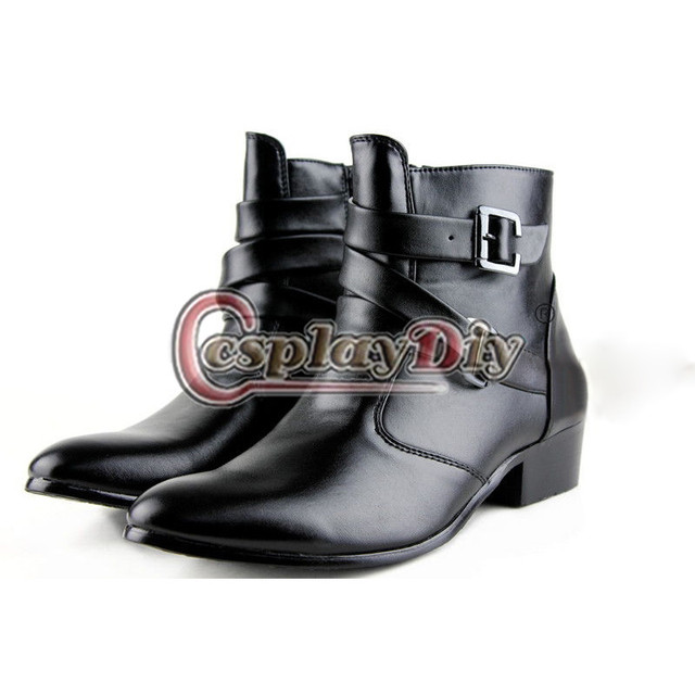 ... Michael Jackson Shoes Adult Men Winklepickers Shoes Boots Custom 708d2748a