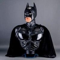 Бэтмен против Супермена: Dawn of Justice 1: 1 Бэтмен бюст Темный рыцарь статуя (Размер жизни) половина длины фото или портрет Recast