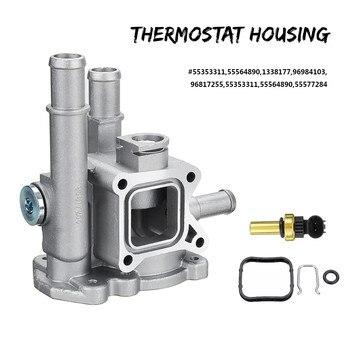 96984103 96817255 Thermostat Housing Cover for Chevrolet Chevy Cruze Aveo Orlando Opel Astra Zafira Signum Moka