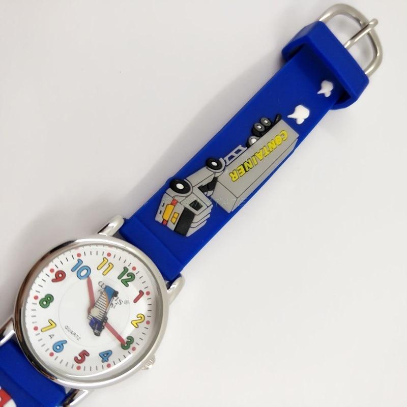WILLIS Moda infantil Impermeable 3D Camión Diseño Analógico Reloj - Relojes para niños - foto 5