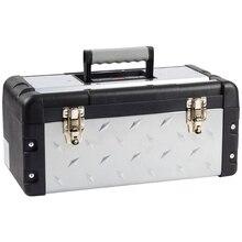 Ящик для инструмента ЗУБР 38155-18 (съемный лоток, возможность использовать навесной замок)