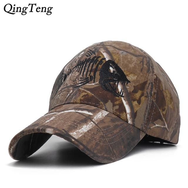 New Camouflage Fishing Cap 1